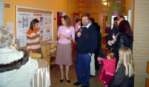Empfang Familienfest CHORUS e.V. Braunschweig