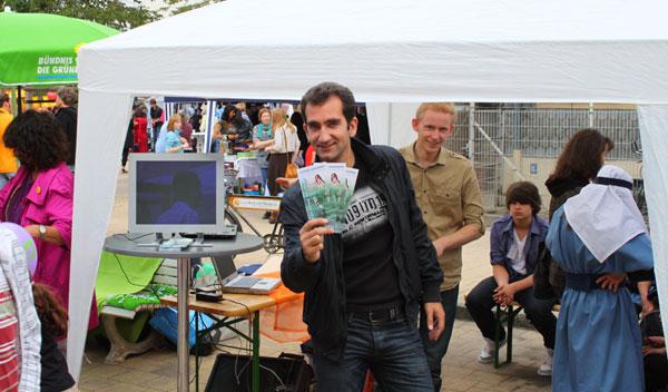 CHORUS e.V. beim Stadtteilfest Westliches Ringgebiet Braunschweig