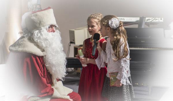 CHORUS e.V. Der Weihnachtsmann zu Besuch