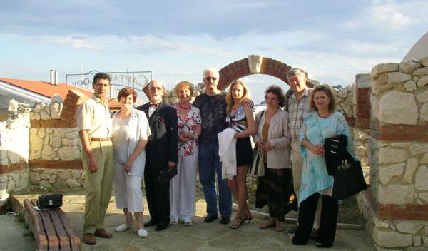 CHORUS e.V. Die Jury beim internationalen Gesangswettbewerb in Bulgarien