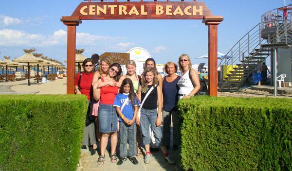 CHORUS e.V. Ausflug zum Central Beach