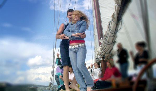 CHORUS e.V. - Salsa auf dem Boot