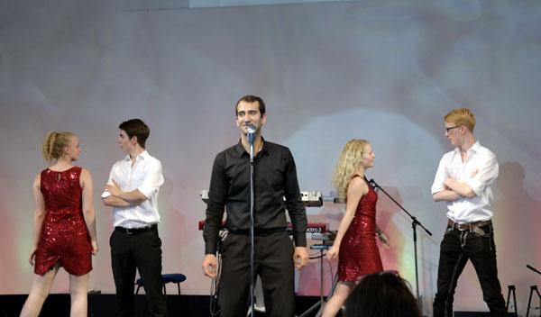 Russ Farrow beim Sommerfest der CHORUS e.V. in Braunschweig