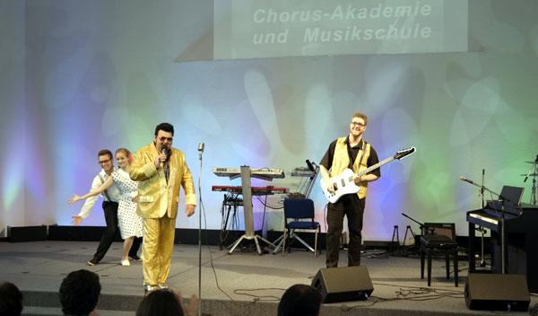 Rock´n Roll Show beim Sommerfest der CHORUS e.V.