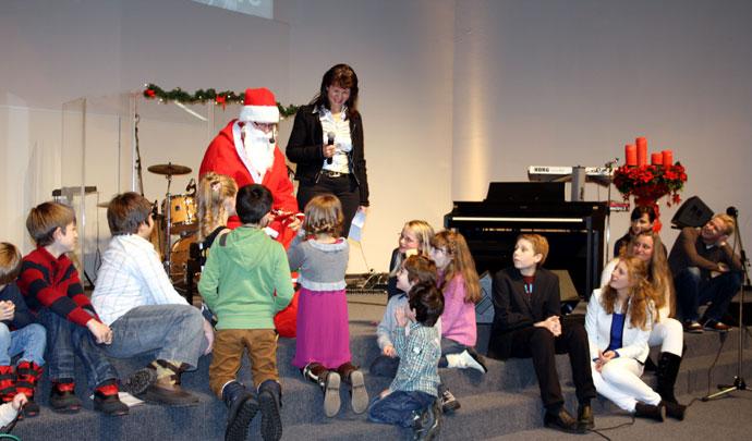 CHORUS e.V. feiert Weihnachten