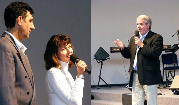 CHORUS e.V. Vorsitzende und Kurt Schrader von der Stadt Braunschweig