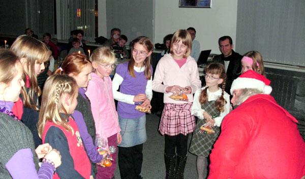CHORUS e.V. Weihnachtsfeier 2010