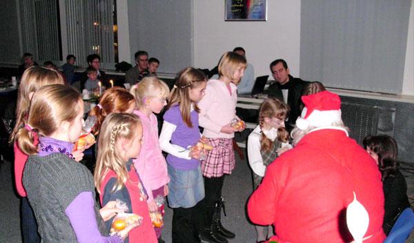CHORUS e.V. Weihnachstfest 2010